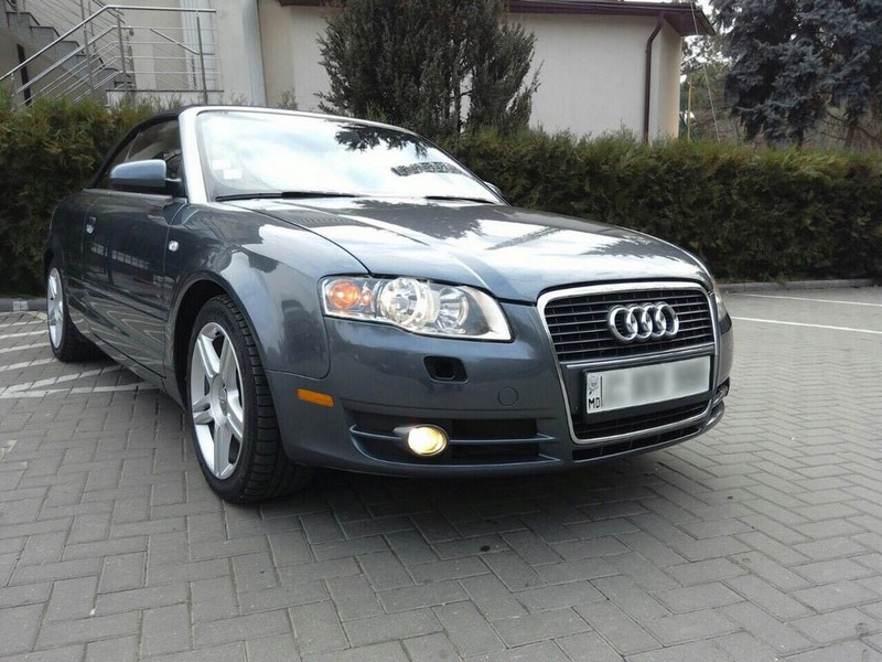 audi a4 cabrio  national car hire