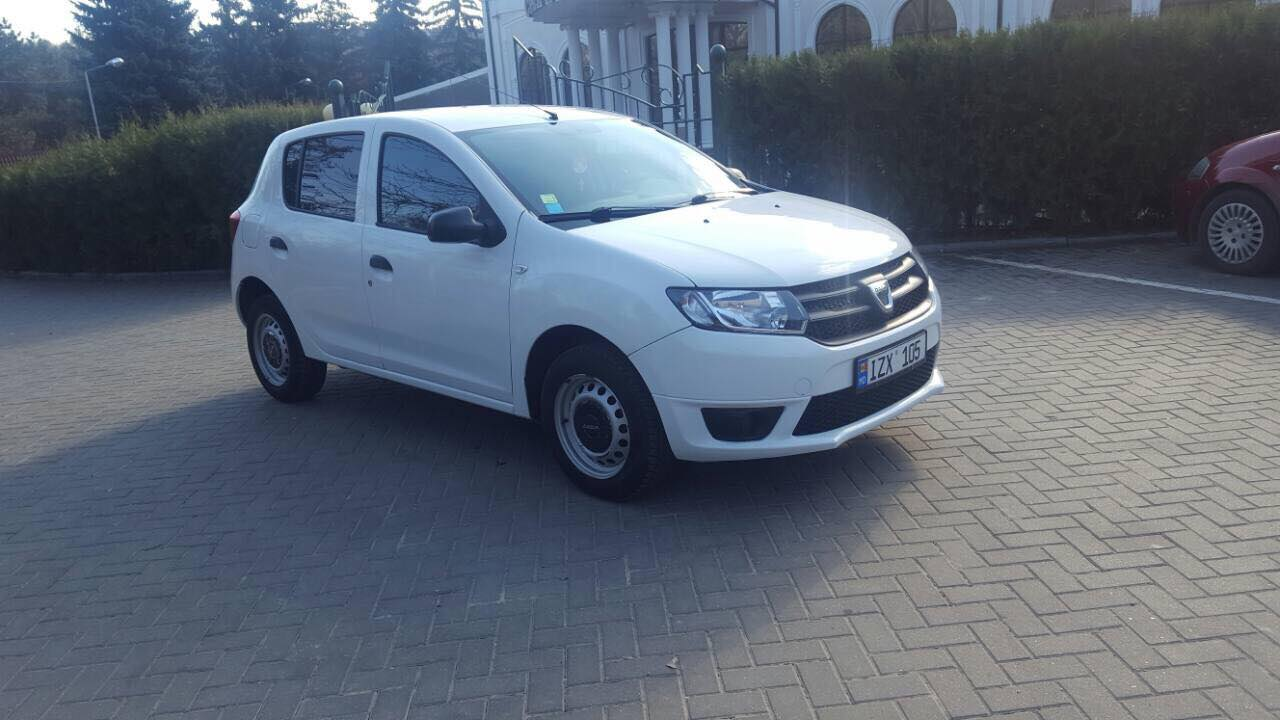 ars for rent dacia sandero 2014 2014 in kishinev cars4rent. Black Bedroom Furniture Sets. Home Design Ideas