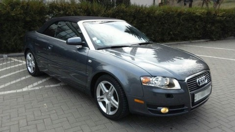 audi a4 cabrio  lowest price rental cars