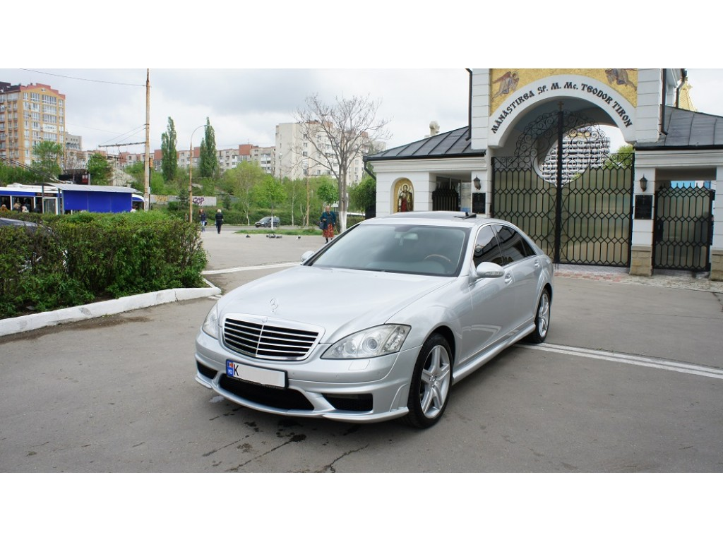 mercedes s-klass amg long  masini